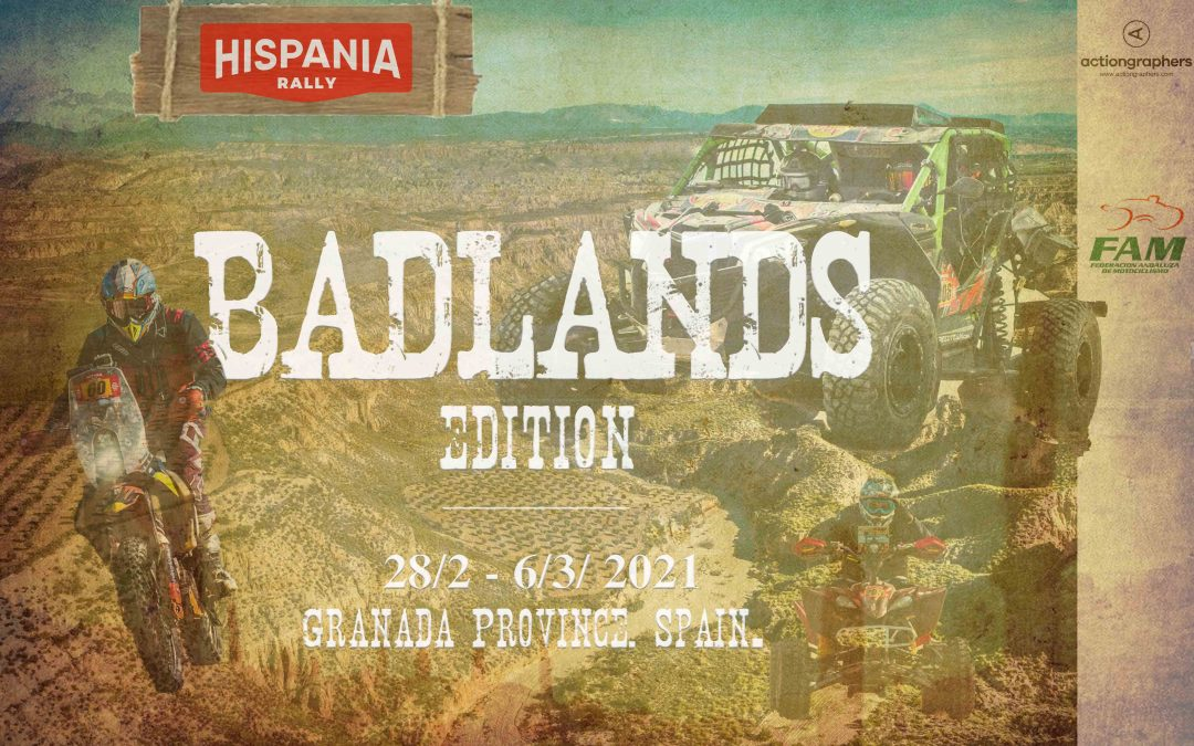Hispania Rally 2021: Badlands Edition